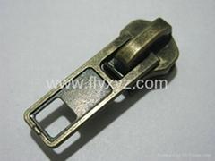 Antique brass metal slider