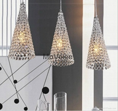 Modern Crystal Ceiling Lamps E14