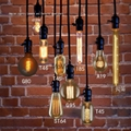 mix order coffee bar bulbs chandeliers
