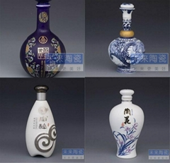 景德鎮陶瓷酒瓶