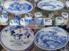 景德鎮陶瓷桌椅套裝