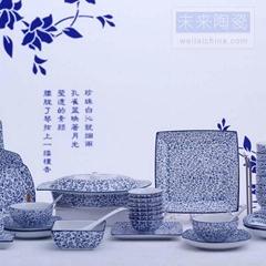 全手繪景德鎮陶瓷餐具套裝