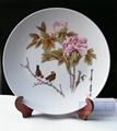 手繪景德鎮陶瓷觀賞盤