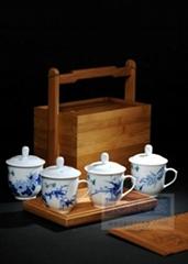 景德镇手绘茶杯