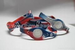 Power Balance NBA All Stars Bracelet Silicone Wristband PB