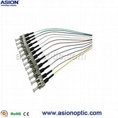ST Pigtail 12 core fiber Cassembly manufacturer