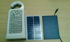 太阳能手电