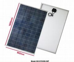 太陽能電池板80W多晶