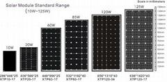 太阳能单晶电池组件