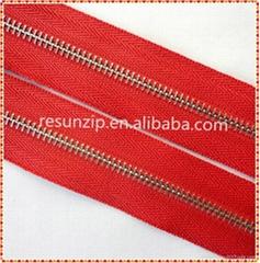 RORO2014 Y teeth handbag zipper wholesalers