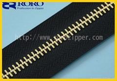 RORO2014 garment metal zipper manufacturer