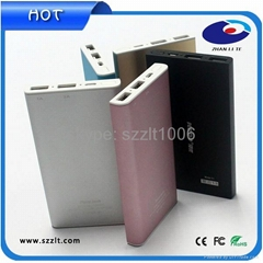 7200mAh Portable Cell Phone Charger Used For Psp/gps/pad/tablet