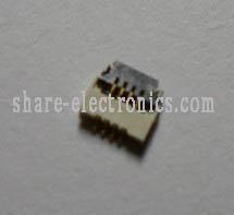0.5mm pitch 4 poles FPC FHS connector