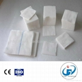 medical absorbent cutting gauze with or
