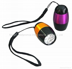 6 led mini promotional flashlight with