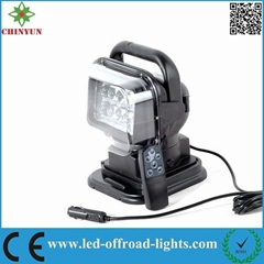 9-30V 7'' 50W Wireless Remote control LED Mining Work Lamp/ Light