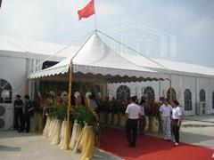 Beautiful and practical wedding reception gazebo tent manufacturer