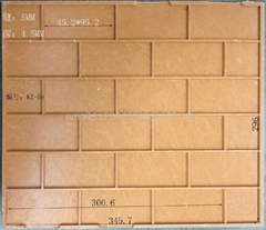 external tile  mold