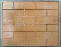 external tile mould