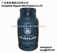 非洲15KG液化石油氣鋼瓶