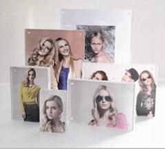 elegant acrylic photo frame