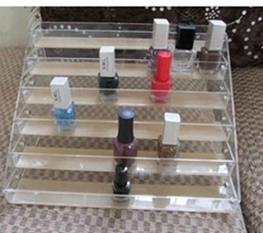 Acrylic nail polish oil rack, lipstick holder, cosmetic rack
