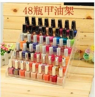 Acrylic nail polish oil rack, lipstick holder, cosmetic rack 2