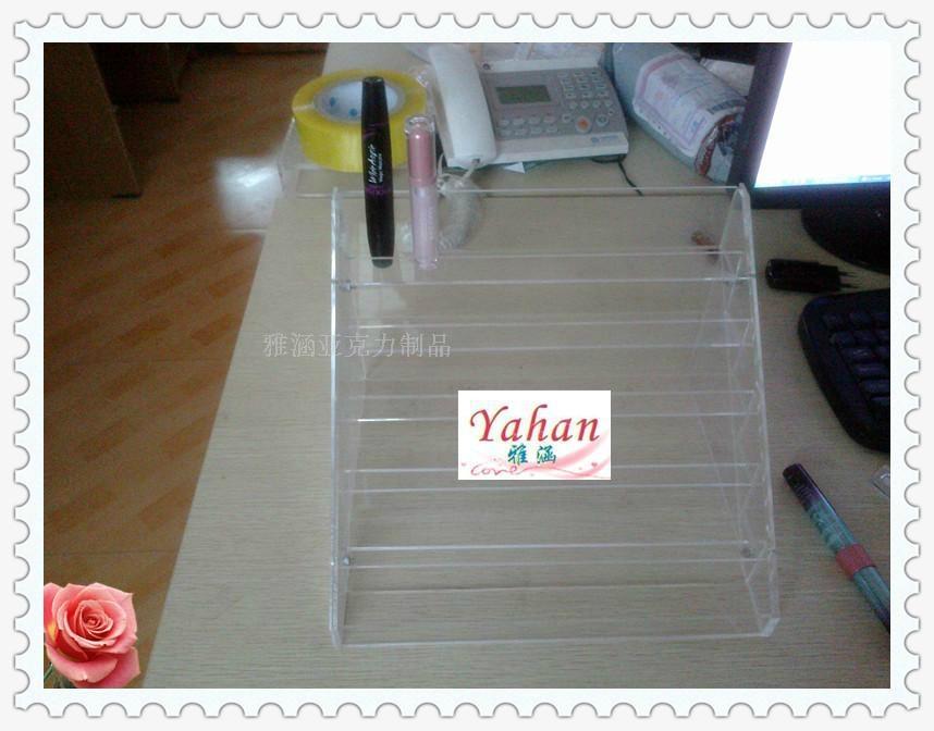 Acrylic nail polish oil rack, lipstick holder, cosmetic rack 3