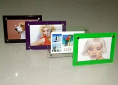 7 inches Acrylic photo frame, transparent crystal frame