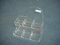 acrylic single tier nail polish oil rack,plaid pavans nail polish oil rack  2