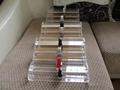 acrylic single tier nail polish oil rack,plaid pavans nail polish oil rack  3
