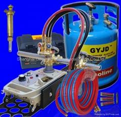 Semi automatic rail flame cutting machine for steel/ metal