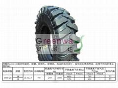 挖掘机轮胎1000-20