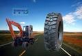 小挖机轮胎750-16 2