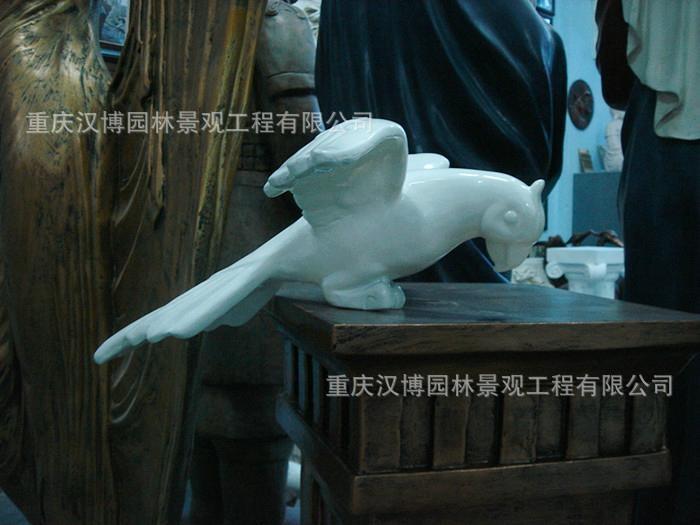 鹦鹉树脂创意工艺品 3