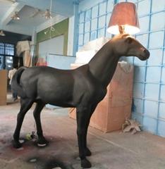 家居樹脂裝飾馬燈