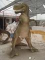 大型仿真恐龙玻璃钢雕塑