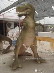 大型仿真恐龍玻璃鋼雕塑