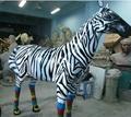 大型仿真模具斑马雕塑摆件