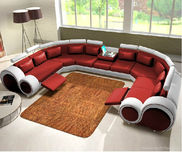 new design modern creative u shape genuine leather 65 creative furniture ideas spicytec