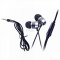 Metal band phone headset microphone microphone cd mp3 mp4 music hifi headphones