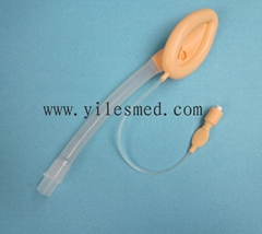 Disposable silicone laryngeal mask, CE marked