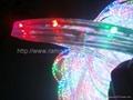 multi colored led rope lights blue/multicolour/orange(3wires) 3