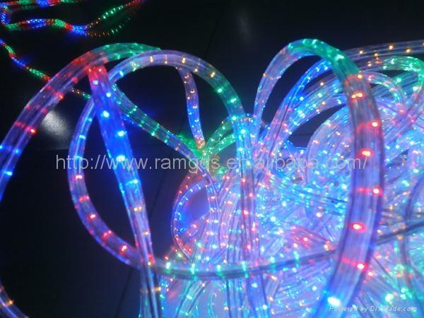multi colored led rope lights blue/multicolour/orange(3wires) 4