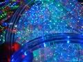 multi colored led rope lights blue/multicolour/orange(3wires) 5