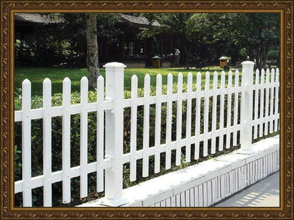 成都庭院塑胶PVC围栏 2