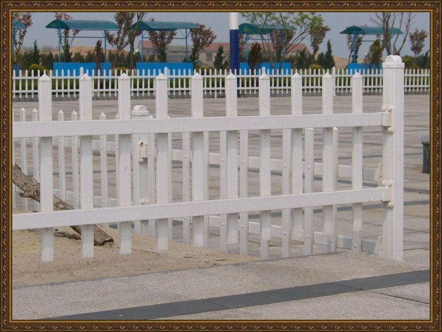 成都庭院塑胶PVC围栏 3