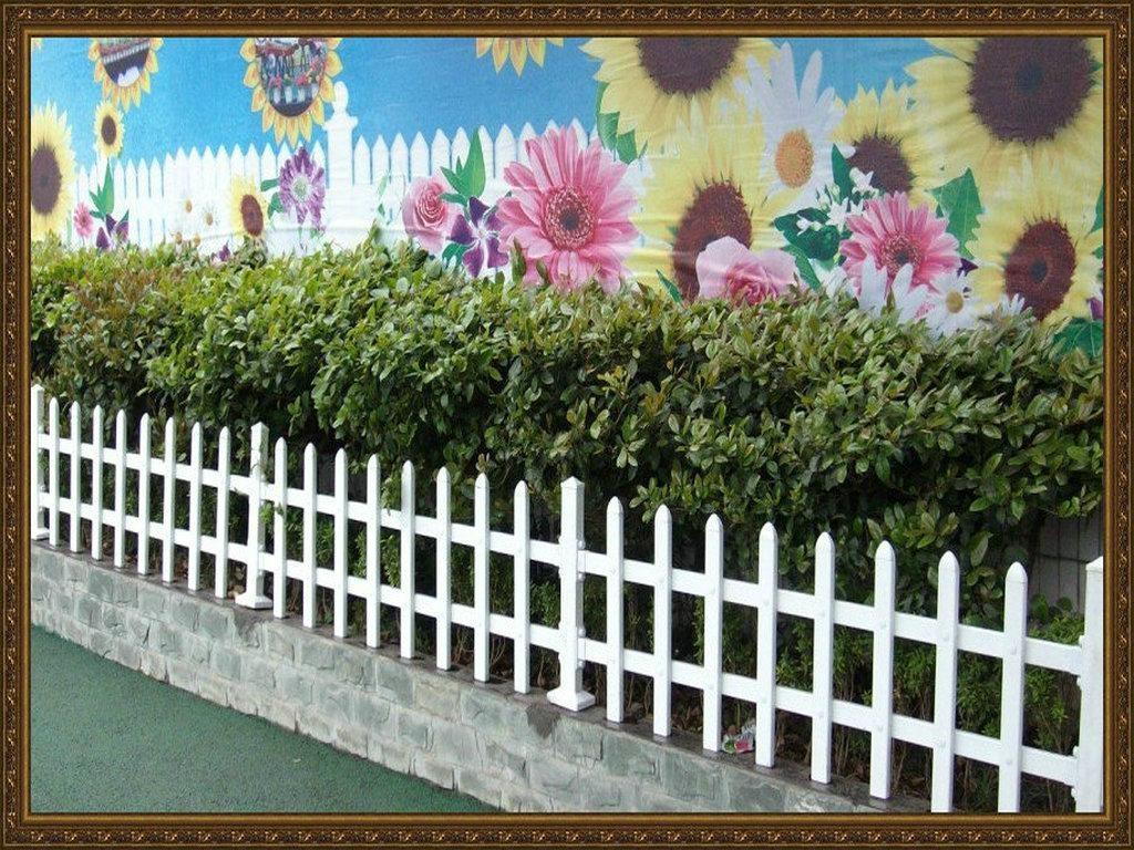 成都庭院塑胶PVC围栏 4