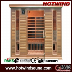 Portable Wooden Sauna Room for 4 Person