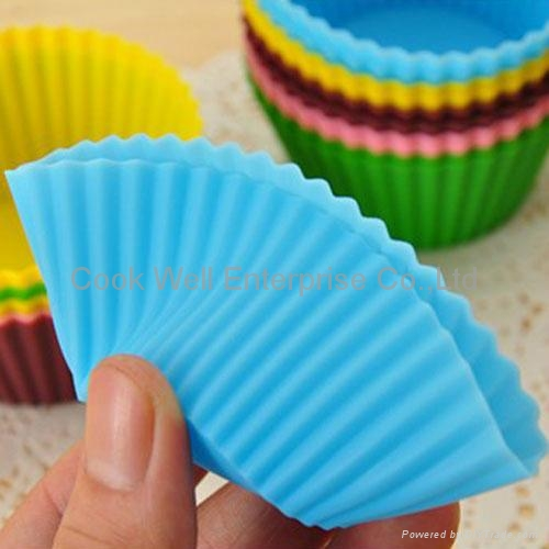 Food grade customized silicone muffin mould 2